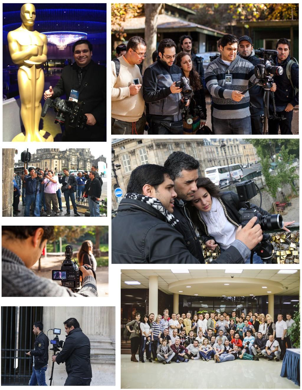 Photo collage blog